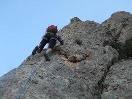 Esparraguera a la Roca Gris, Montserrat, Espagne 4