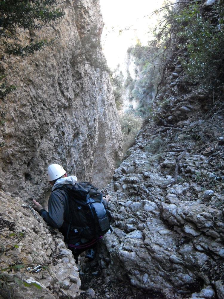 Canal de l'Artiga alta, Montserrat 5