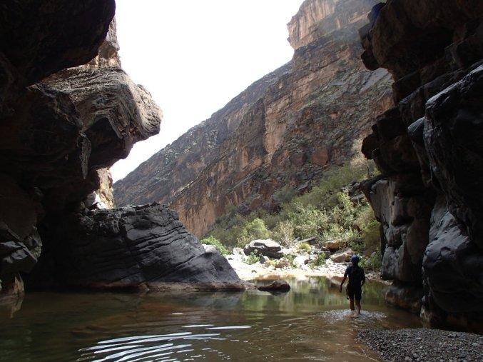 Snake Gorge Canyon, Jebel Akhdar 7