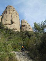 Via Normal a la Momieta, Montserrat, Espagne 4
