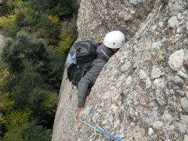 Via Iglesias-Casanovas a la Bessona Inferior, Montserrat, Espagne 4