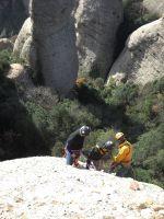 Aresta Brucs a l'Arbret, Agulles, Montserrat, Espagne 7
