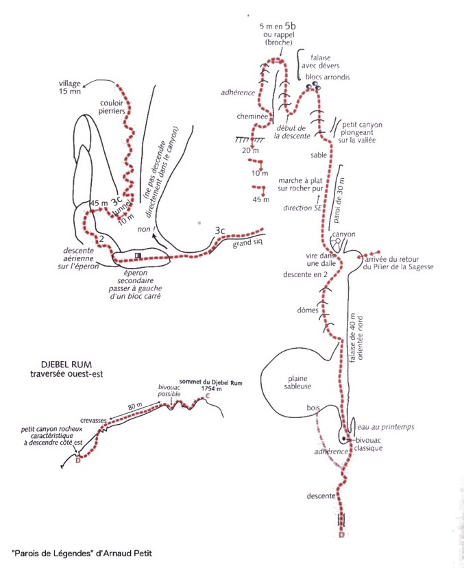 topo Hammad's Route (A.Petit)
