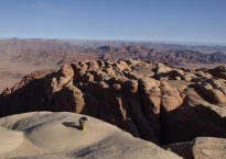 Sabbah's Route, Jebel Rum, Jordanie 6