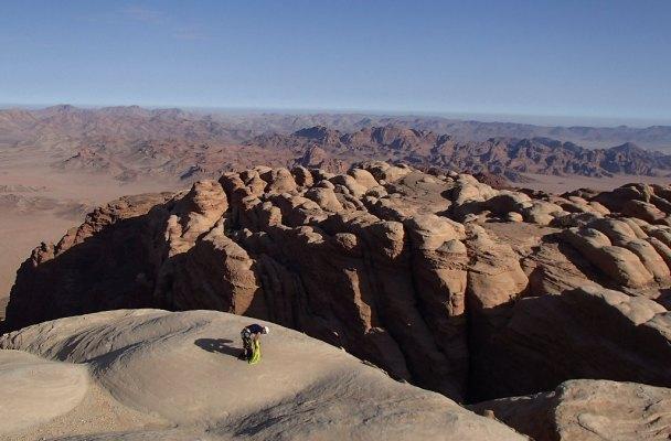 Sabbah's Route, Jebel Rum, Jordanie 2