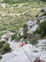 Mac Gregor a su Pesar al Roc d'En Sola, Perles, Espagne 8