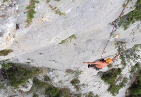 Mac Gregor a su Pesar al Roc d'En Sola, Perles, Espagne 10