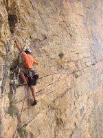 Dièdre Farreny a la Roca Alta, Vilanova de Meïa, Espagne 14