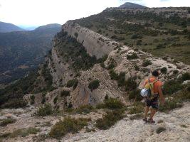 Dièdre Farreny a la Roca Alta, Vilanova de Meïa, Espagne 25