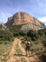 Dièdre Farreny a la Roca Alta, Vilanova de Meïa, Espagne 2
