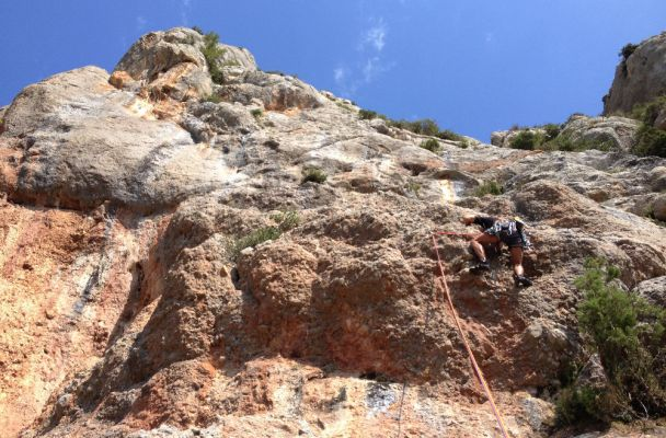 Del Manelet a la Paret del Grau, Coll de Nargo, Espagne 2