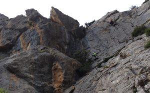 Mac Gregor a su Pesar al Roc d'En Sola, Perles, Espagne 9