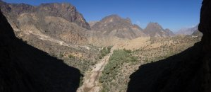 Le vent l'emportera, Snake Canyon, Wadi Bani Awf, Bilad Seet, Oman 8