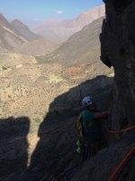 Le vent l'emportera, Snake Canyon, Wadi Bani Awf, Bilad Seet, Oman 14