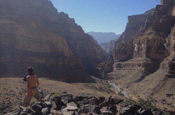 Finger Rest, wadi Nakhur, Al Hamra, Oman 2