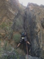 No Slicks, Pilier Ouest, Snake Canyon, Wadi Bani Awf, Oman 11