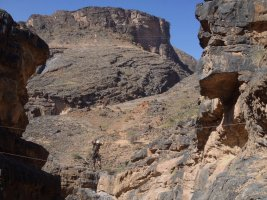 Snake canyon, Jebel Akhdar 14