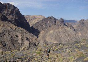 No Slicks, Pilier Ouest, Snake Canyon, Wadi Bani Awf, Oman 18