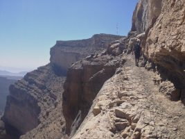 Ferrata du Jebel Shams, Jebel Akhdar 20