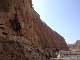 Wadi Dayqah sport climbing, Quriyat, Oman 4