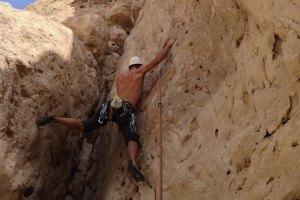 Wadi Dayqah sport climbing, Quriyat, Oman 12