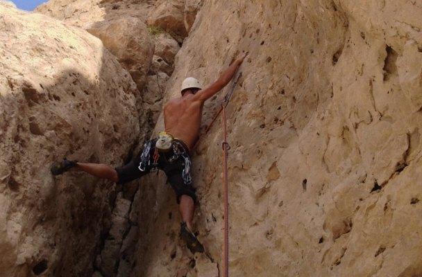 Wadi Dayqah sport climbing, Quriyat, Oman 2
