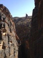 Snake canyon, Jebel Akhdar 12