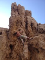 Hatta Crag, Sport climbing, Oman 4