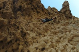 Hatta Crag, Sport climbing, Oman 11