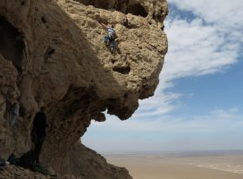 Hatta Crag, Sport climbing, Oman 20