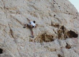 Hatta Crag, Sport climbing, Oman 10