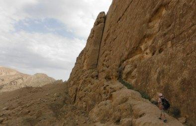 Vire d'accès au Central Wall