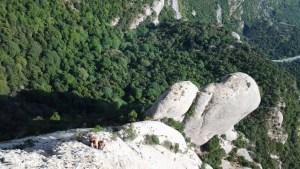 Punsola-Reniu al Cavall Bernat, Montserrat 4