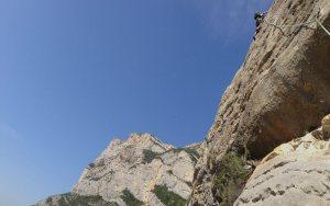 Basalm del Tigre a la paret Bucolica, Oliana 10
