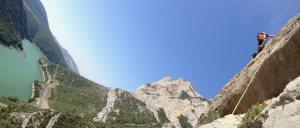 Basalm del Tigre a la paret Bucolica, Oliana, Espagne 13