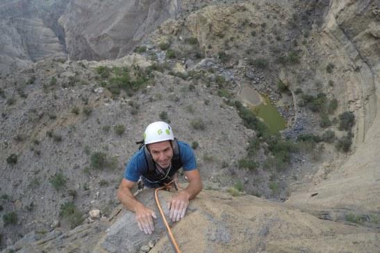 Au dessus du canyon en L2.