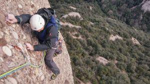 GEDE al Agulla Gran del Pas del Princep, Montserrat, Espagne 9