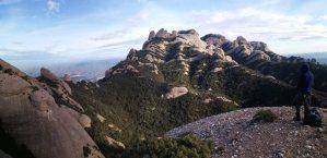 GEDE al Agulla Gran del Pas del Princep, Montserrat, Espagne 12