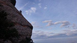GEDE al Agulla Gran del Pas del Princep, Montserrat, Espagne 14
