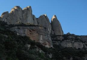 Salt de la Nina, Els Ecos, Montserrat, Catalunya, Espagne 1