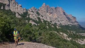 Via Aleix a la Punxa, Montserrat, Espagne 2