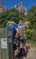 Via Aleix a la Punxa, Montserrat, Espagne 3