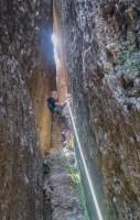 Desideratum a l'Agulla dels Espeleolegs, Montserrat, Espagne 11