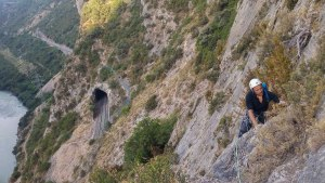 Via CADE a la Paret de Les Bagasses, Terradets, Espagne 4