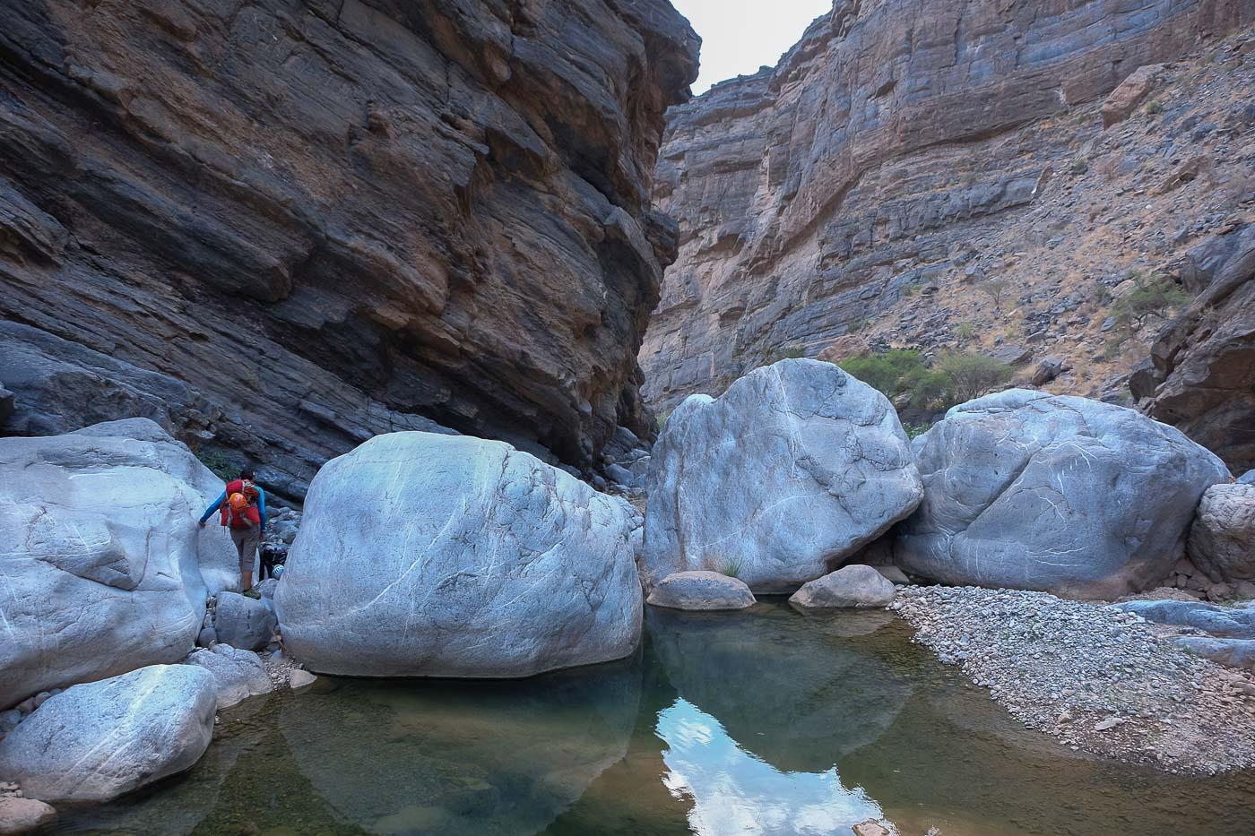 Wadi Kamah, Sayq Plateau 77