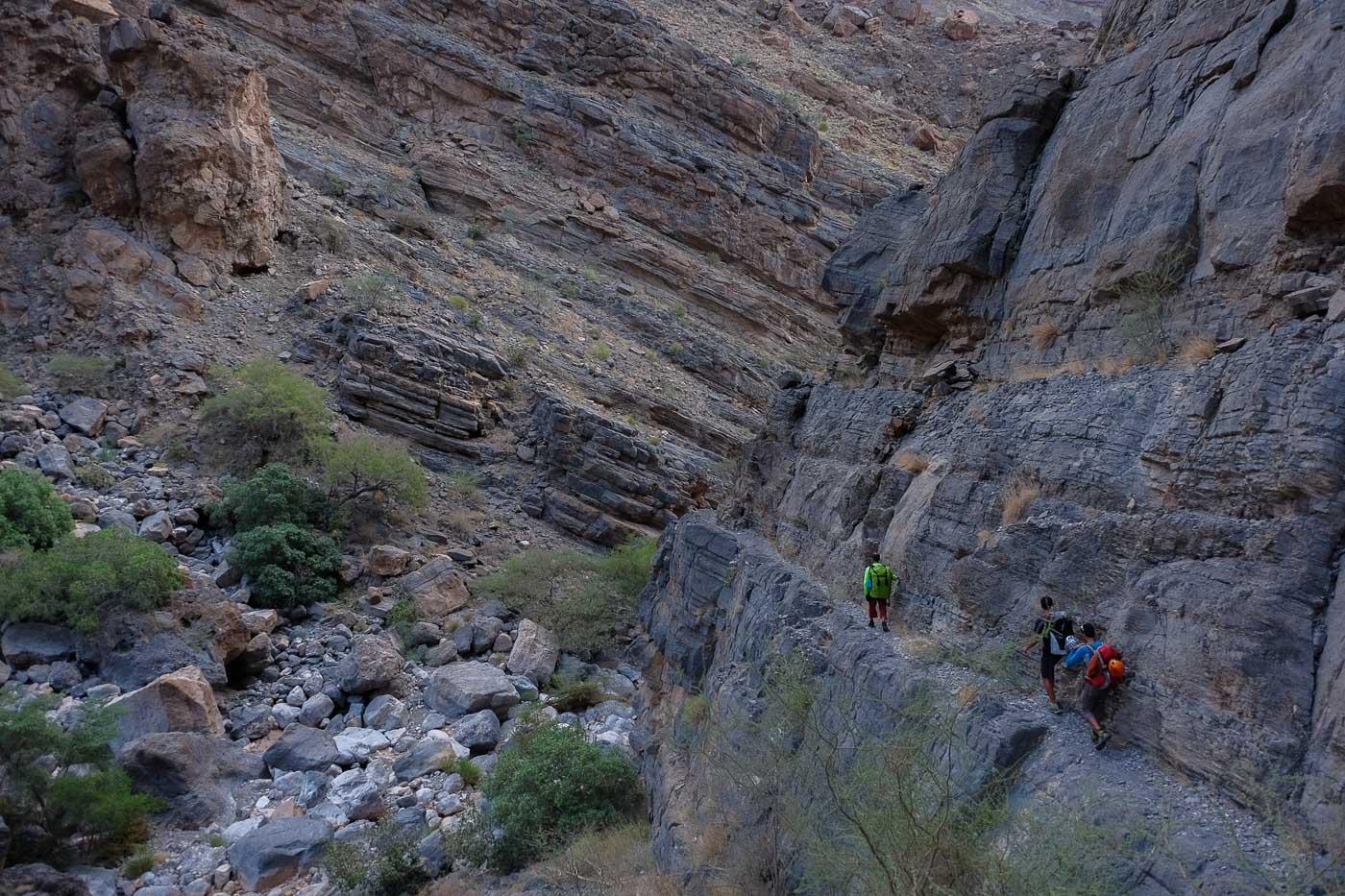 Wadi Kamah, Sayq Plateau 78