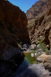 Départ du Wadi