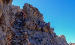 nouvel escalier de pierres