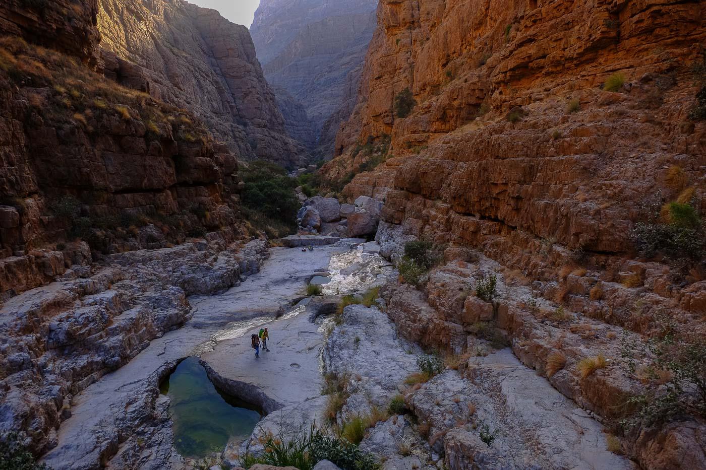 Wadi Kamah, Sayq Plateau 1
