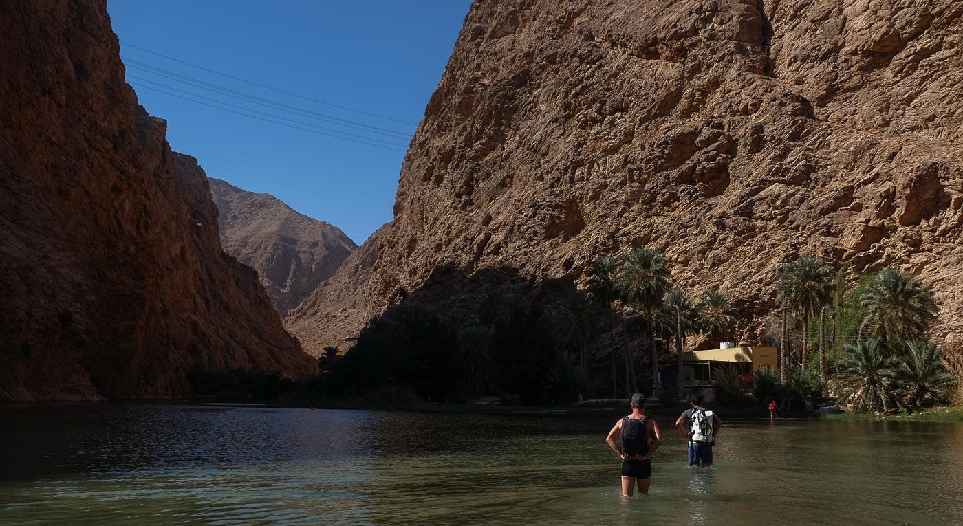 Wadi Shab, Hajar Oriental 3